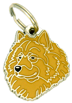 EURASIER FAWN NO MASK - pet ID tag, dog ID tags, pet tags, personalized pet tags MjavHov - engraved pet tags online